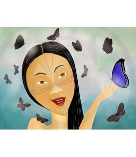 Mariposas Lámina