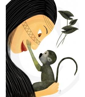 Mono Lámina