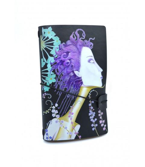 Cuadernos piel sintética 12x20 cm