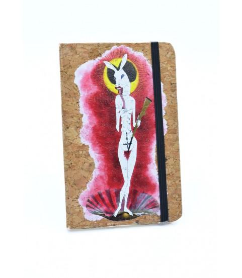 Cuadernos con tapa de corcho 9x14 cm